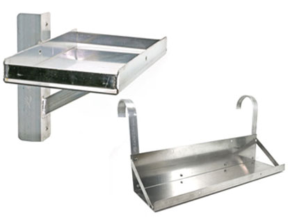 Optional Single and Double Battery Trays
